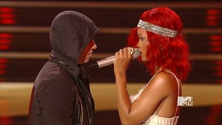 Rihanna in racy dress at CFDAs as she picks up Fashion